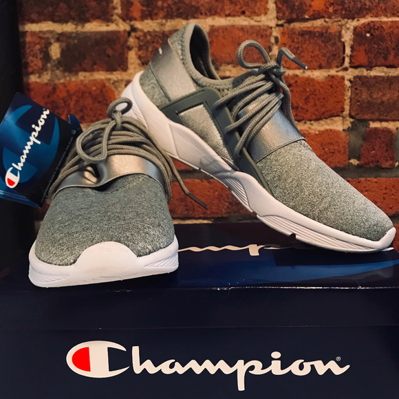 132939bed92eb ⚡️CHAMPION FLASH GORE SNEAKERS - GRAY⚡️